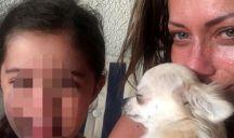 Il cane di Karina Cascella è morto: l'addio commosso