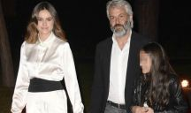 Kasia Smutniak si è sposata: l'abito da sposa boho chic
