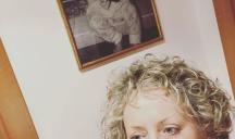 Carolyn Smith da piccola: nella foto aveva 2 anni