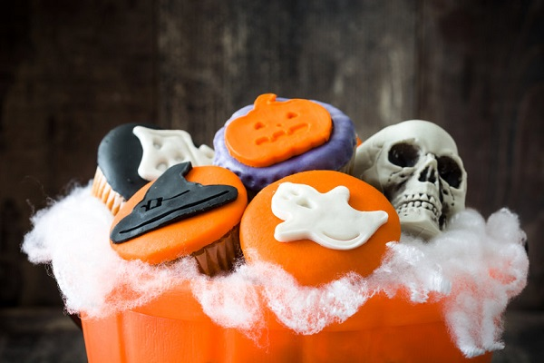 Ricette, dolci di Halloween: cupcakes mostruosi