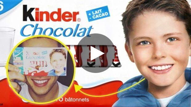 Bambino Barrette Kinder.Bambino Della Kinder Cioccolato E Cresciuto Ecco Com E