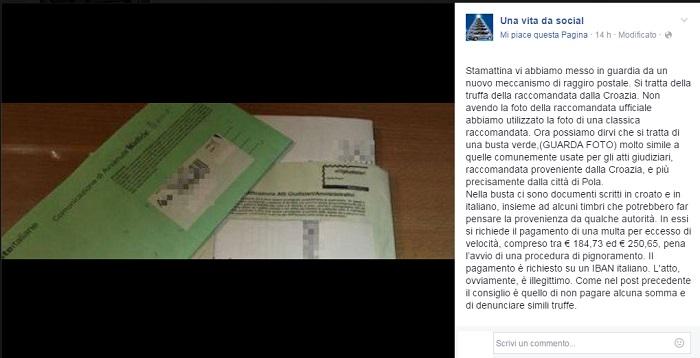 """Truffa della Busta Verde, la Polizia: """"Ecco come difendervi""""."""