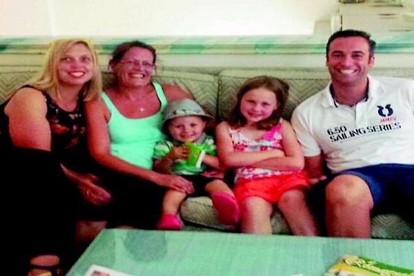 Padre Morto di Cancro: Storia del Palloncino Viola