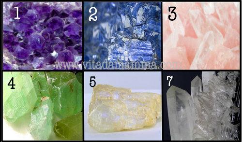 pietre e cristalli test