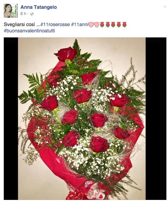 Le foto del regalo di San Valentino di Anna Tatangelo