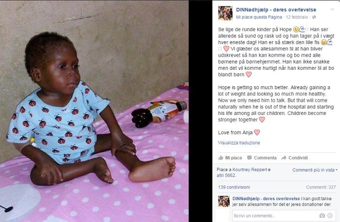 Bimbo Abbandonato in Nigeria Perché Ritenuto Stregone
