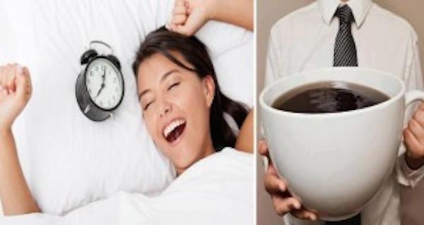 come svegliarsi senza caffè modi