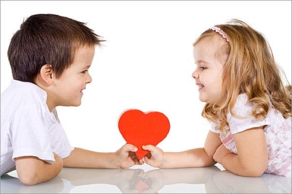 San valentino con bambini