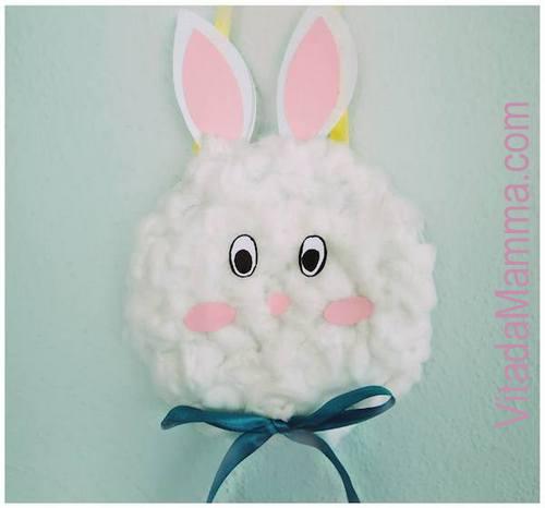 Lavoretti Di Pasqua Come Fare Un Coniglietto Porta Ovetti