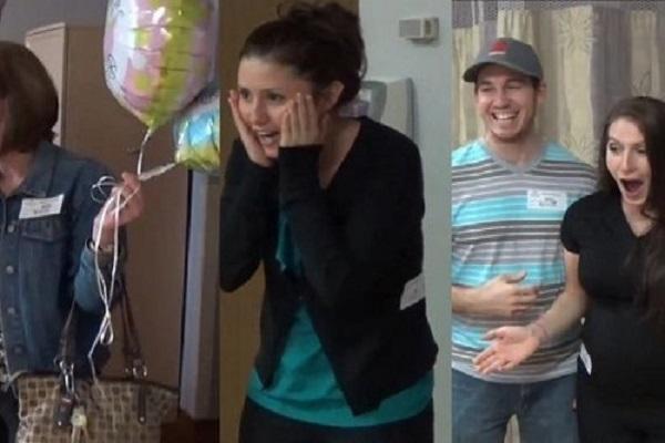 sorpresa dopo il parto gemelli