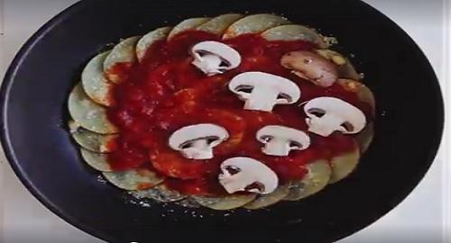 pizza di patate alla Bisamark