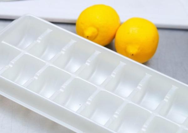 congelare il limone fresco