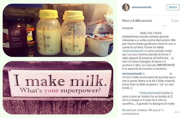 Elena Santarelli Posta una Foto su Instagram: è di Nuovo Polemica