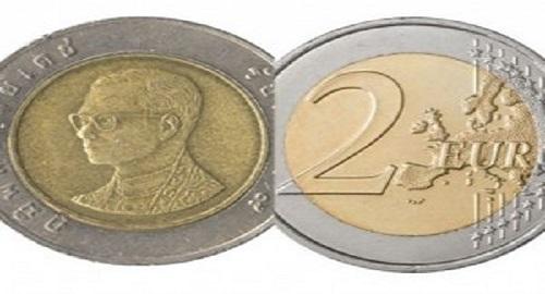 truffa dei 2 euro moneta