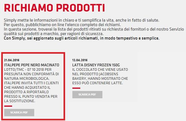 Pepe Nero Macinato Ritirato dal Mercato: Info e Foto