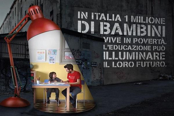 Illuminare il Futuro la Campagna di Saver the Children