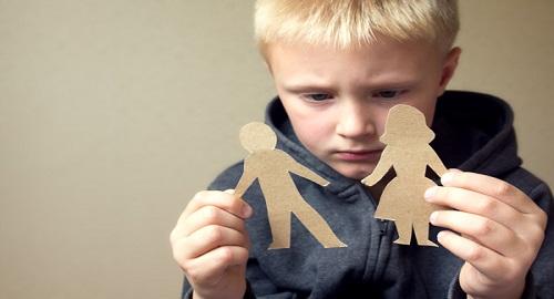 il divorzio per i bambini