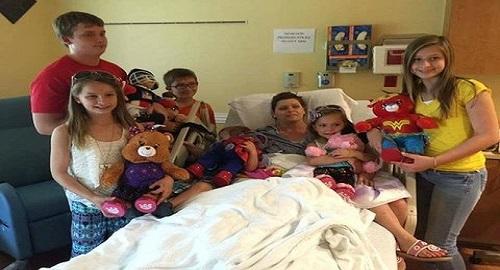 mamma muore di tumore 6 figli