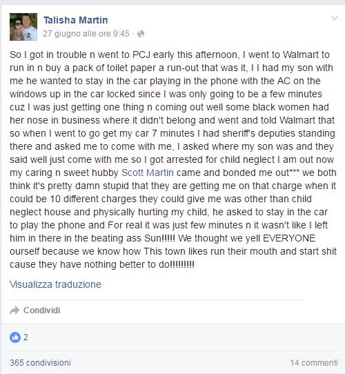 Lascia il Figlio da Solo in Auto: Mamma Arrestata