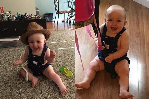 Bambina Vestita dal Padre: la Foto Finisce in Rete
