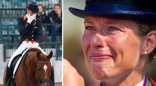 dressage cavallo rischia la vita Rio