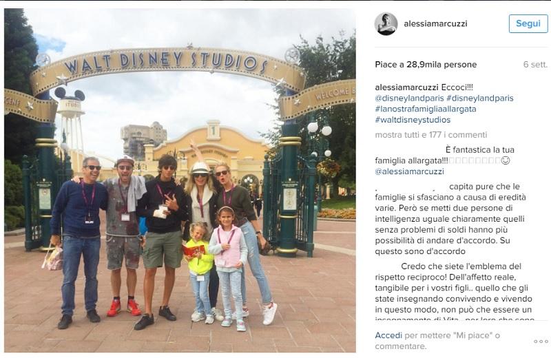 Cicogna in arrivo per Alessia Marcuzzi
