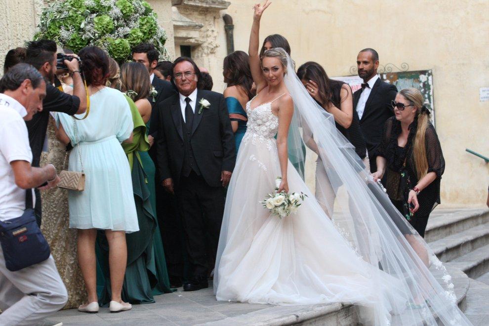 458846036a36 Sognare Figlia Con Abito Da Sposa Bridal » Cristel carrisi e davor ...