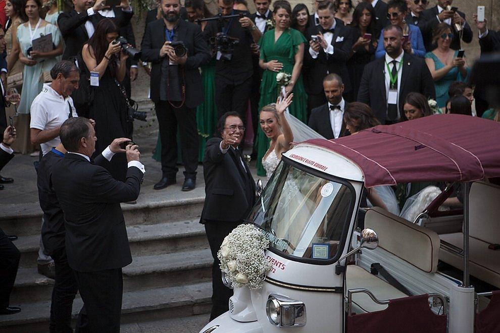 Cristel Carrisi e Davor Luksic sposi, matrimonio vip a Lecce