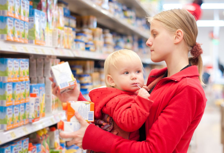 leggere le etichette prodotti bimbo