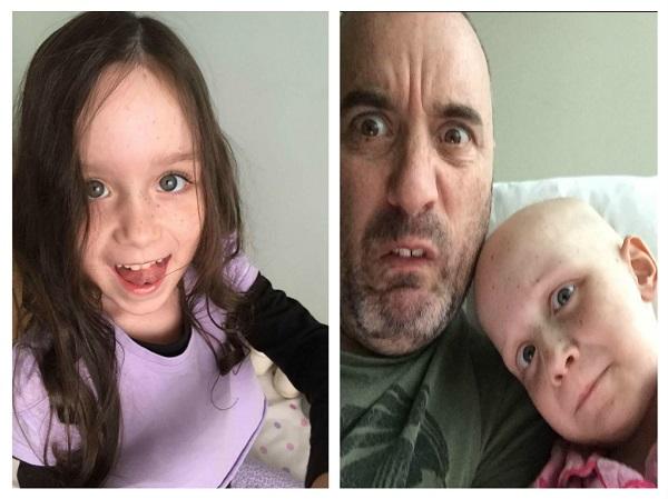 Figlia Malata di Cancro: Papà Pubblica Foto e Commuove Tutti