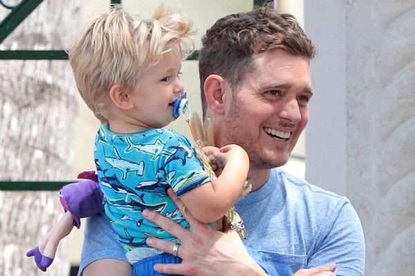 Figlio di Michael Bublé ha il Cancro al Fegato