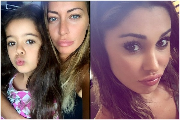 Karina Cascella scatena Instagram: Belen Rodriguez, perché sei sempre nuda?