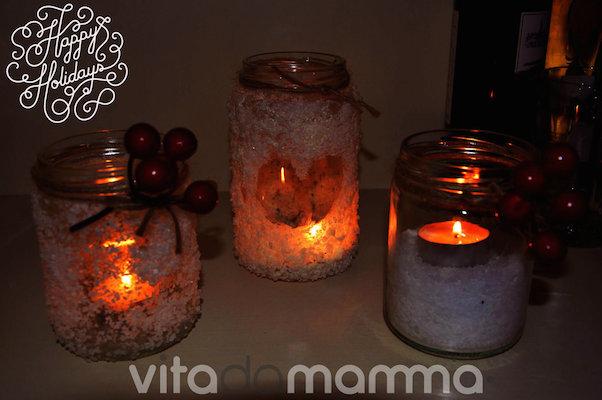 Lanterne Di Natale Fai Da Te Effetto Neve