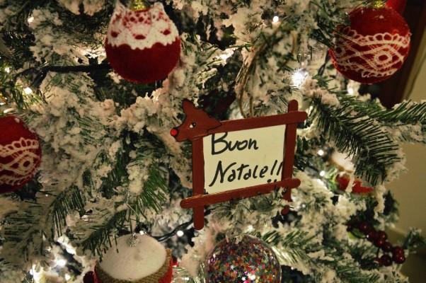 renna Portafoto di Natale