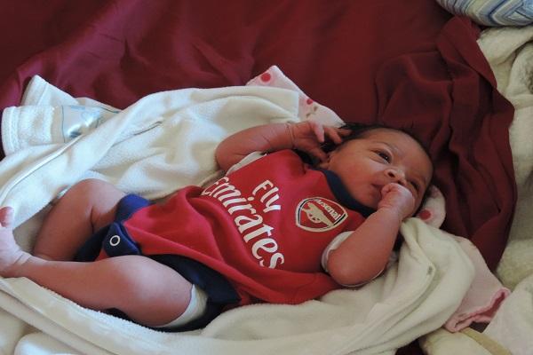il nome della figlia Arsenal