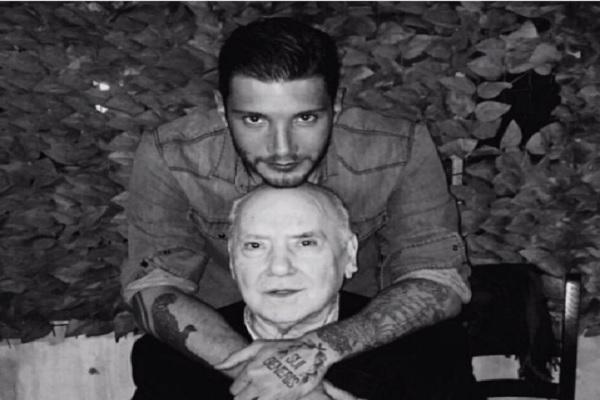 Stefano De Martino ricorda il nonno su Instagram