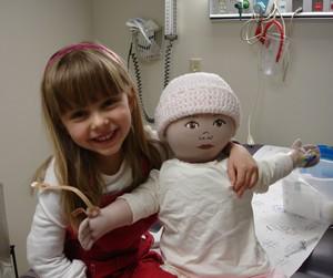 Elena Desserich fu diagnosticato un cancro inoperabile al cervello