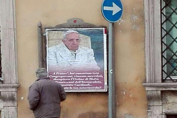 nemici del papa a roma