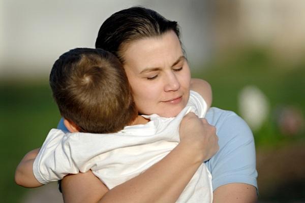 mamma e figlio segreti