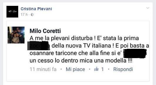 Cristina Plevani Milo Coretti