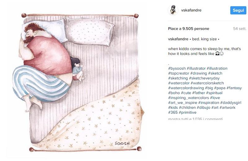 Amore tra Padre e Figlia Raccontato da Snezhana Soosh