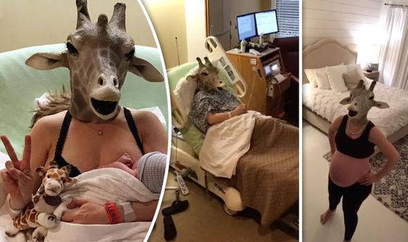 mamma giraffa