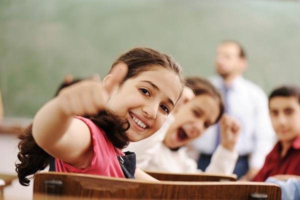ridere in classe