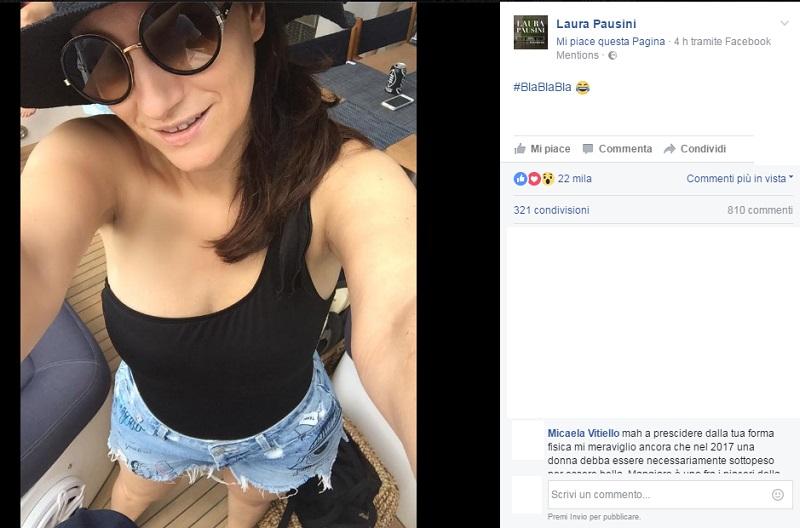 Laura Pausini Fotografata a Miami: è Incinta?
