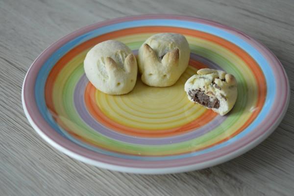 Coniglietti ripieni di cioccolato ricetta pasqua