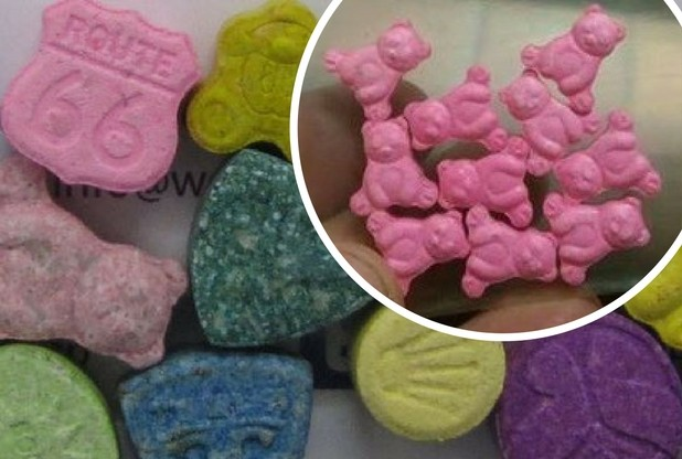 ecstasy a forma di orsetto