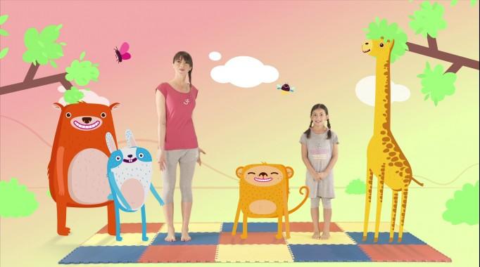 yoga per bambini e mamme