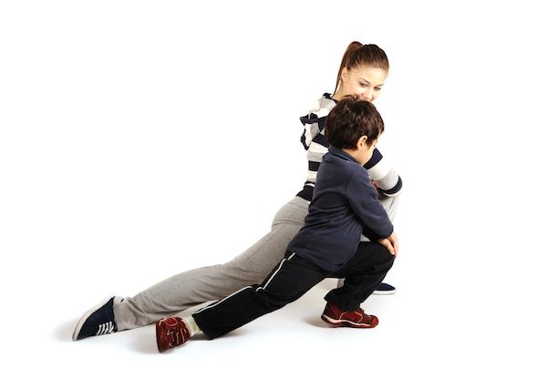 yoga per bambini e mamme posizioni