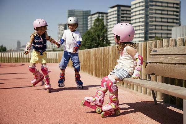 Set pattini per bambini e bambine ritirato dal mercato