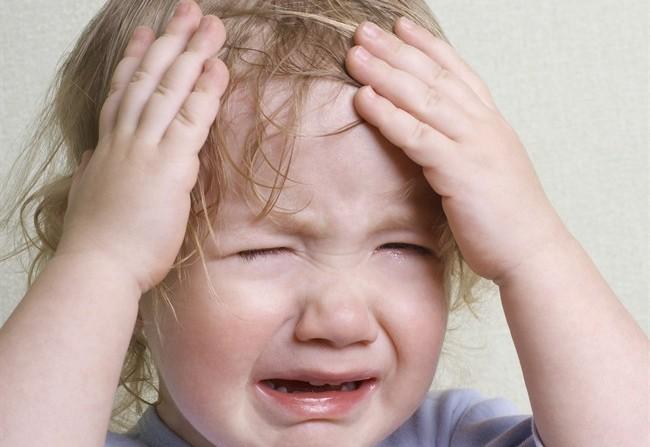 autocorrezione del bambino pianto